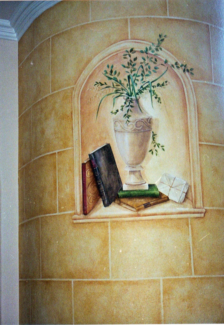 Curved Wall Trompe L Oeil