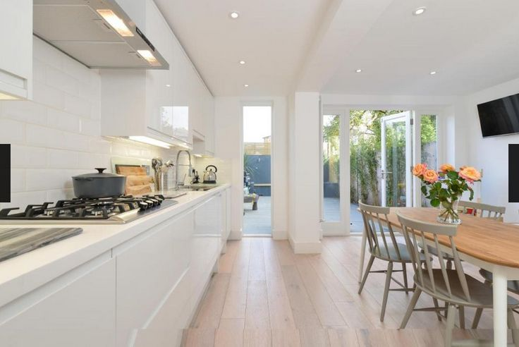 Kitchen and dining extension in a Victorian terrace