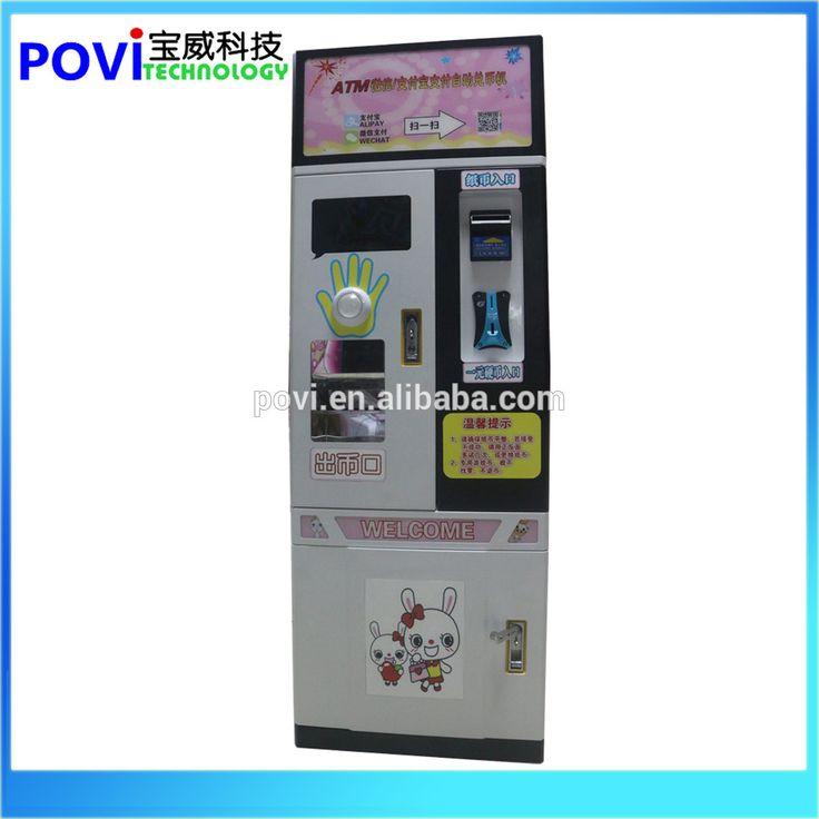 Automatic Cash Exchange machine/ coin exchange machine/ note change machine
