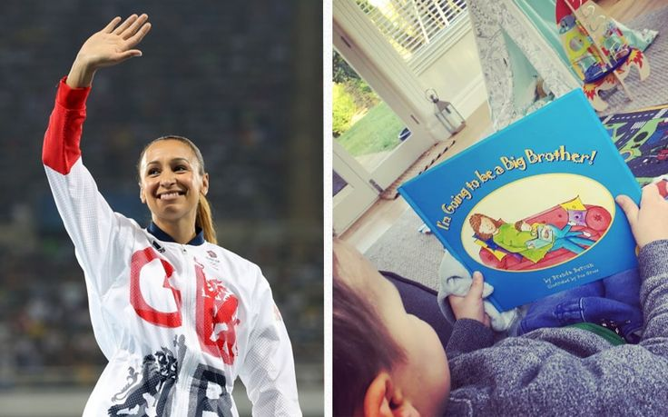 Jessica Ennis-Hill announces she is pregnant with her second child in adorable Instagram post