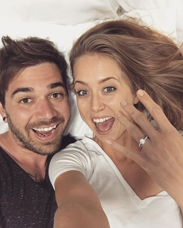 """Charles Trippy - """"My heart is so full of happiness. She said yes!!!! So happy for Charles and Allie Wes!!"""