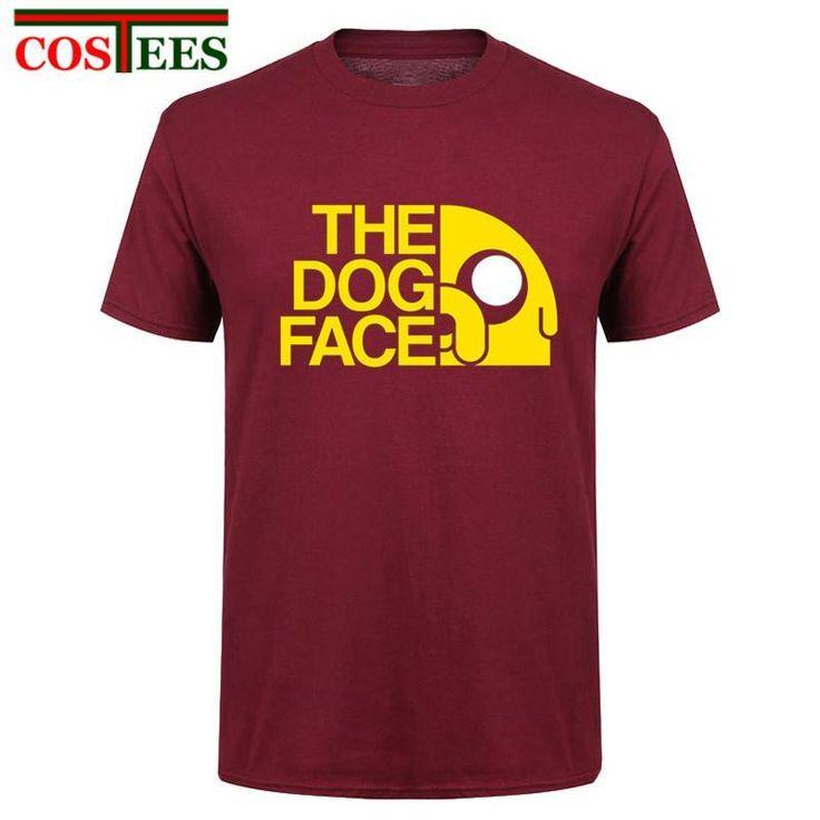 Finn and Jake tshirt man The dog face funny Cartoon 3d print Unisex t shirt  men c9f86a932