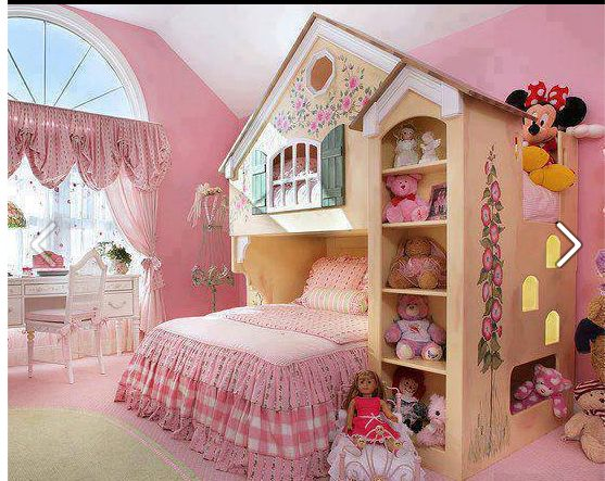 Awesome 30+ Beautiful Bunk Room Ideas For Kids | Play Houses, Bedrooms And Bunk  Rooms