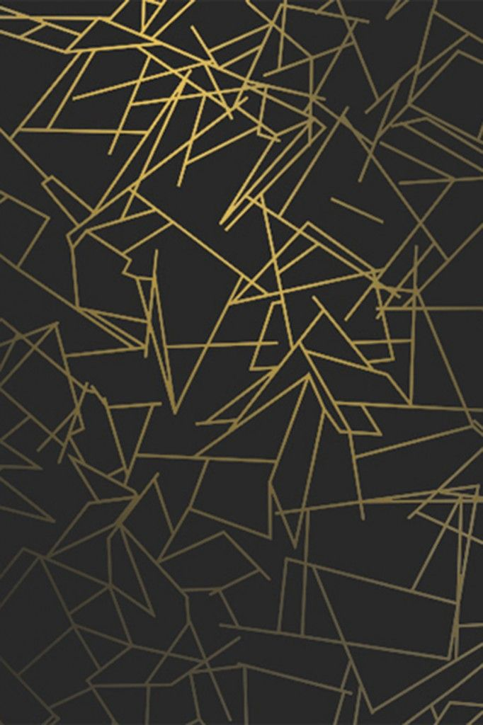 Erica Wakerly Wallpaper from £69/roll. Order online today. Angles Wallpaper is a graphic pattern design featuring metallic lines which reflect the light.