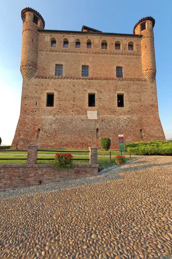 The Castle of Grinzane Cavour, Grinzane Cavour, Cuneo, Piedmont, Italy