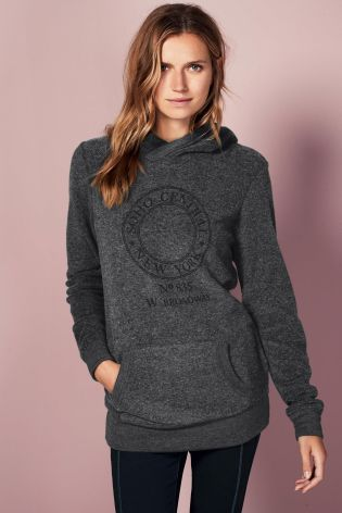 Grey Graphic Hoody