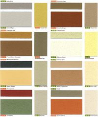 Stucco house colors
