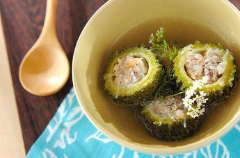 ベトナム風ゴーヤスープ