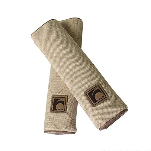 Auto Car Seat Belt Cover Plush Seat Shoulder Pad Cushion Strap Covers 2 Pcs One Pair (Beige) - All of the products we sell are brand new, safe, from a smoke-free environment and high quality; Buy with confidence! If you are not satisfied with this item, just return it to our CA. Company and you will receive full refund. There might be slight color difference between the picture and the rea...