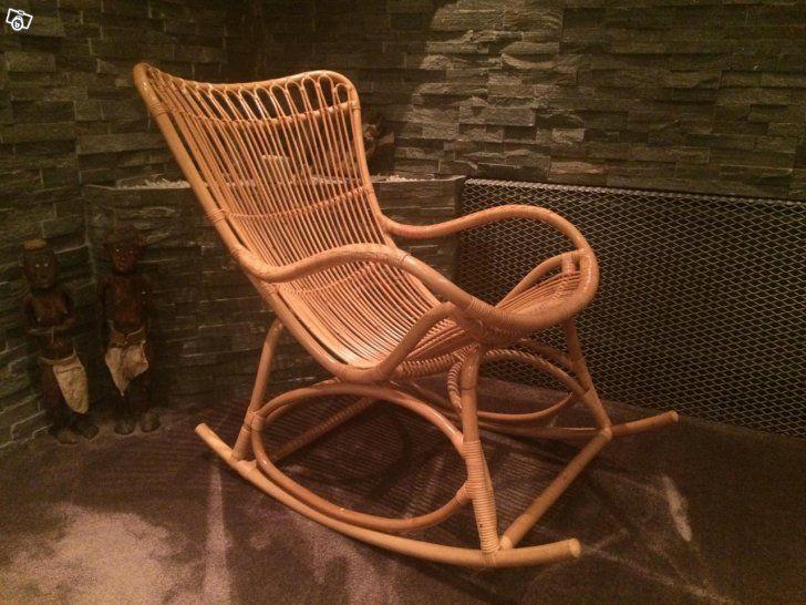 Monet rocking chair silk design