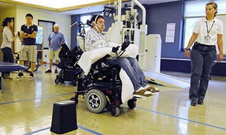 Tongue piercing helps paralysed patients drive wheelchairs