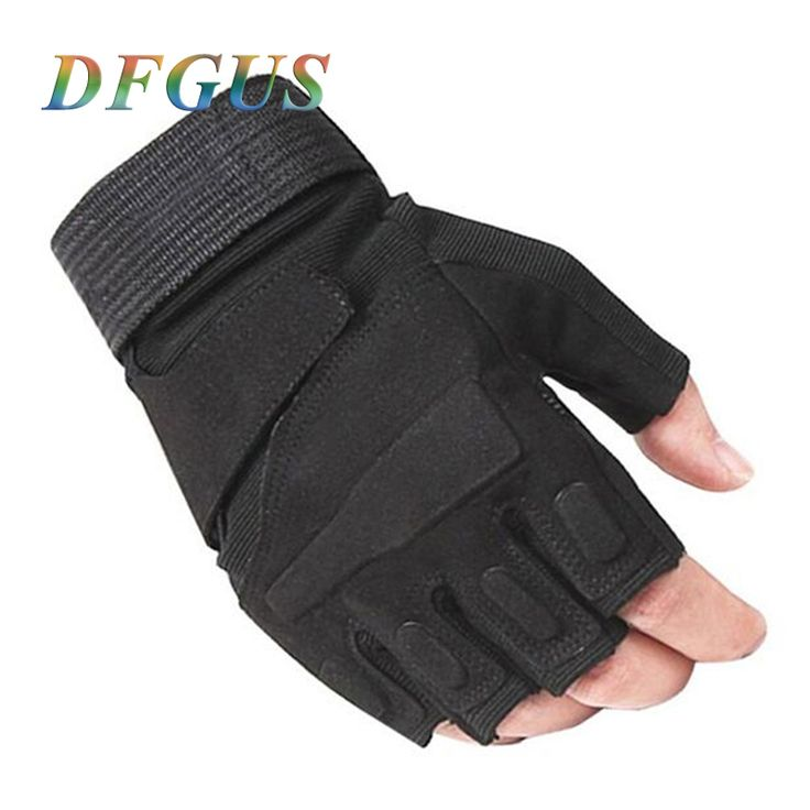 2017 blackhawk hell storm usa special forces tactical gloves slip outdoor Men fighting fingerless gloves PC003