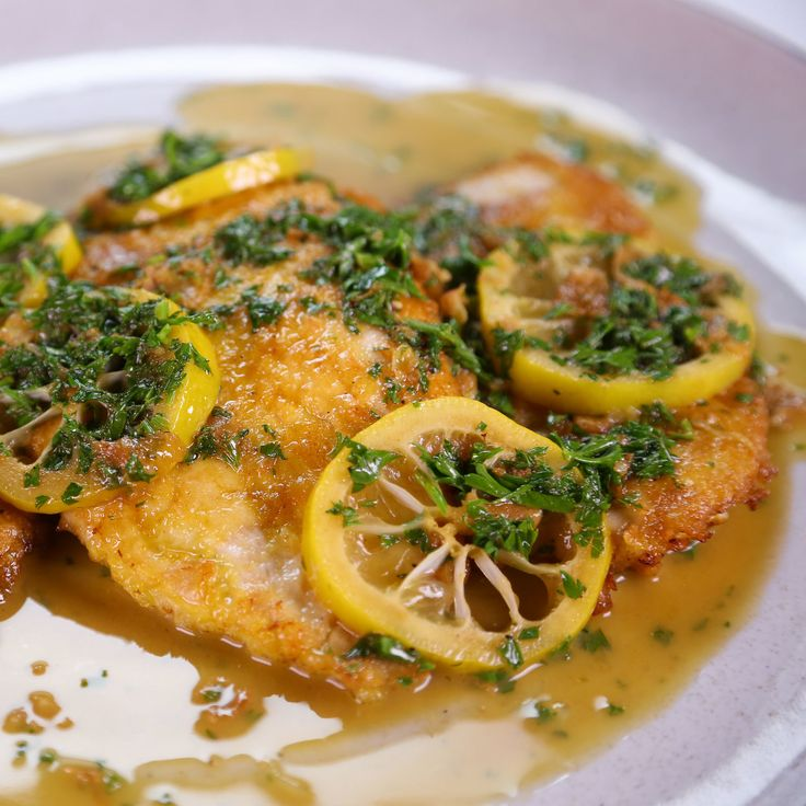 the chew | Recipe  | Clinton Kelly's Chicken Francese