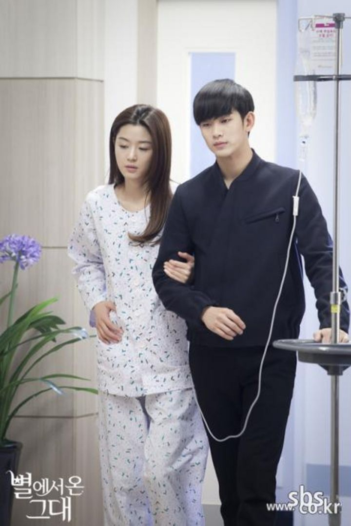 Cheon Song Yi and Do Min Joon | Man From The Stars drama ... | 720 x 1080 jpeg 75kB