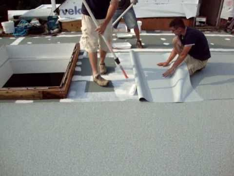 Using PVC Roofing for Flat Roof Deck Waterproofing   PVC Flat Roofing Material - cool single ply roofing