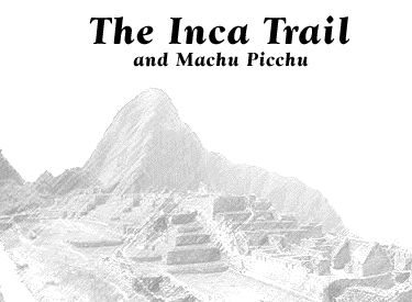 Embark on this virtual field trip along the Inca trail and up the mountains to the mysterious Inca enclave of Machu Picchu