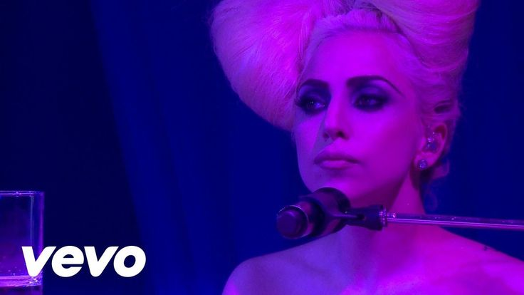 Lady Gaga - Speechless (Live At The VEVO Launch Event) makeup by Billy B