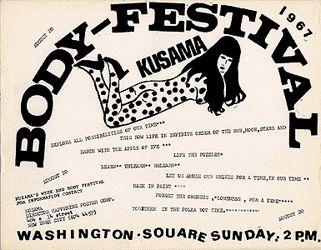 Locandina Body Festival, 1967
