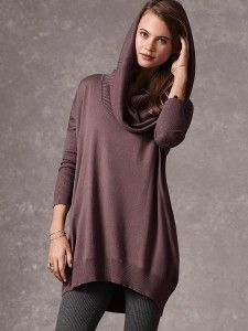 Multi way tunic sweater