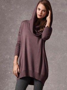 Multi way tunic sweater