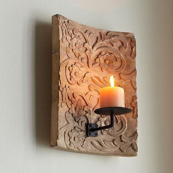 Damask Sconce Wisteria Glasses And Pottery