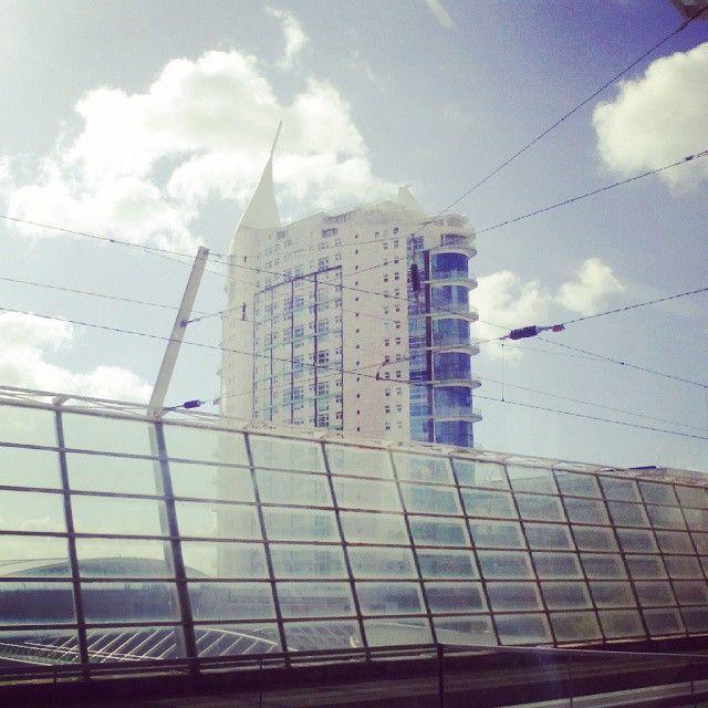 Gare do Oriente. #lisbon #lisboa #city #train