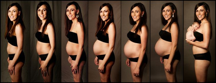 My pregnancy progression from being 10 weeks pregnant until little Shiloh arrived! - Photos by Jason