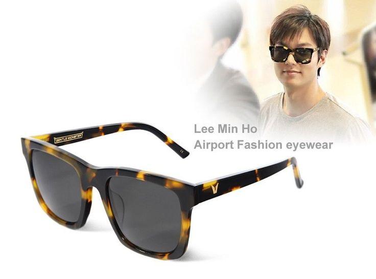 Lee Min Ho August depart Airport Fashion eyewear GENTLE MONSTER ZINGA 031  #GENTLEMONSTER #Round
