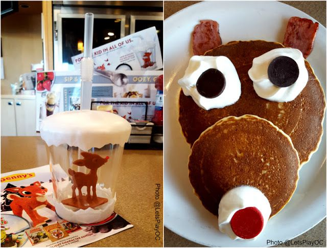 Denny's Rudolph Red-Nosed Reindeer Cup and Pancakes | Food ...