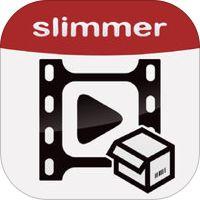 Video Slimmer App - Video editor tool to shrink, trim, merge, cut, split, rotate videos to save storage space for movie file' van Shenzhen Socusoft Co., Ltd