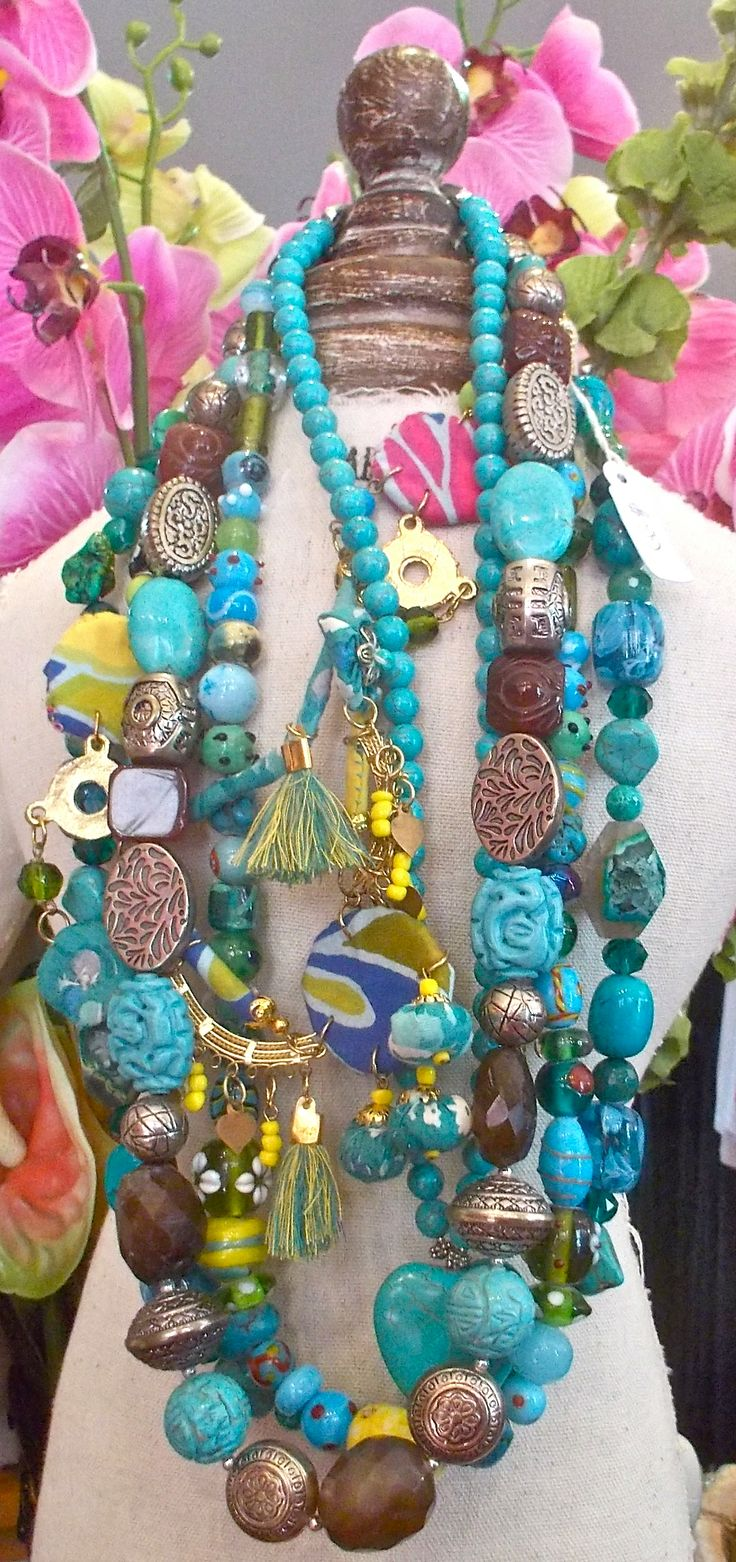 Bellissimo Port Douglas Jewellery, Turquoise, Silver, Glass, Agate