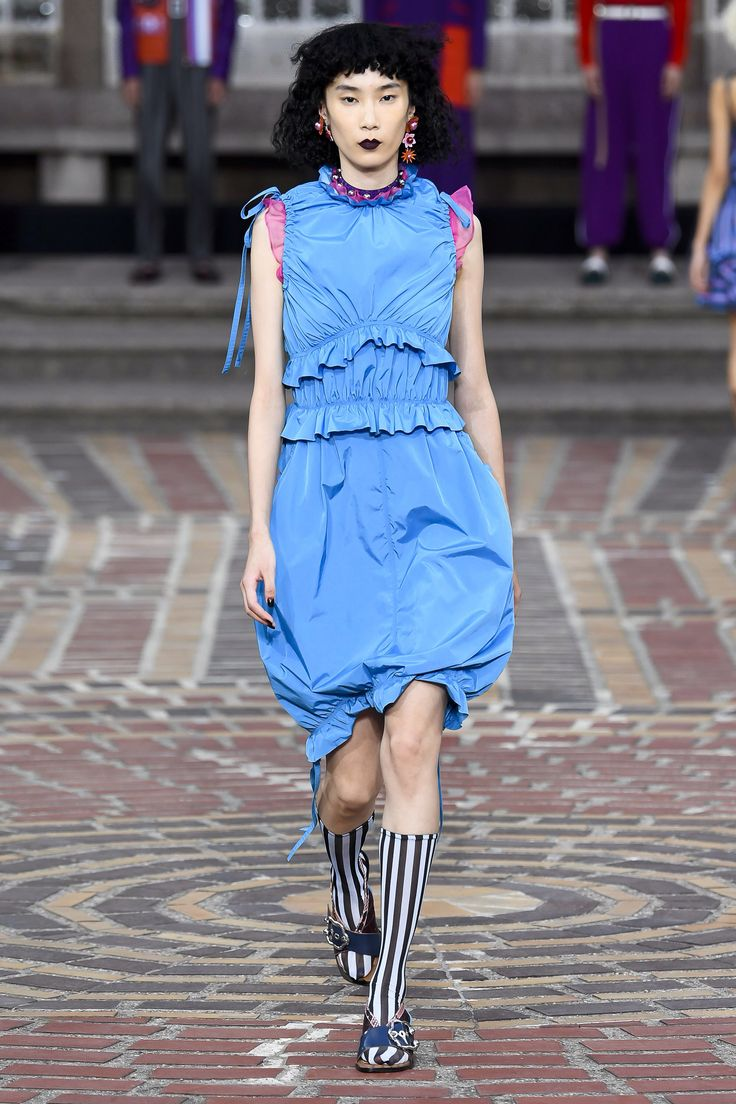 Kenzo Spring 2018 Menswear Fashion Show Collection