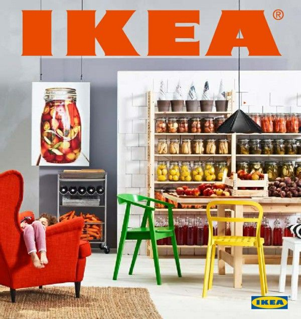 IKEA catalog trends ideas inspiration green yellow Chair 2014