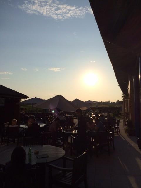 Sunset on the Terrace @CHCC