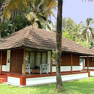 A traditional styled Kerala House at Coconut Lagoon