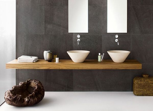 179 best images about Badezimmer on Pinterest - badezimmer holzboden anthrazit