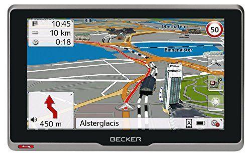 Becker 200073Active. 6S CE GPS (15,8cm (6,2pouces) Écran tactile capacitif en verre véritable, 20pays, carte mises à jour à vie, TMC,…