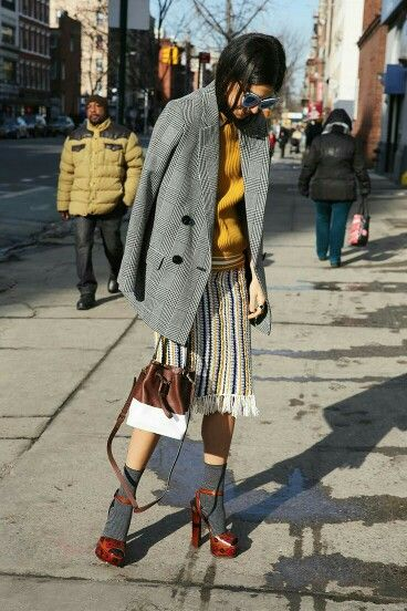 this look is so unique! || #street #style
