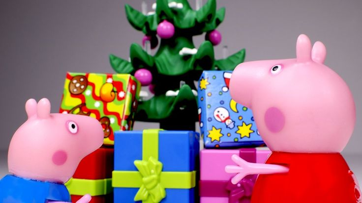Peppa Pig toys in English 💜 Christmas presents