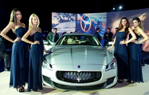 2014 Maserati Quattroporte S Q4 model show