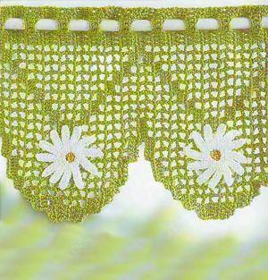 75406884 3111 Beautiful crochet curtains