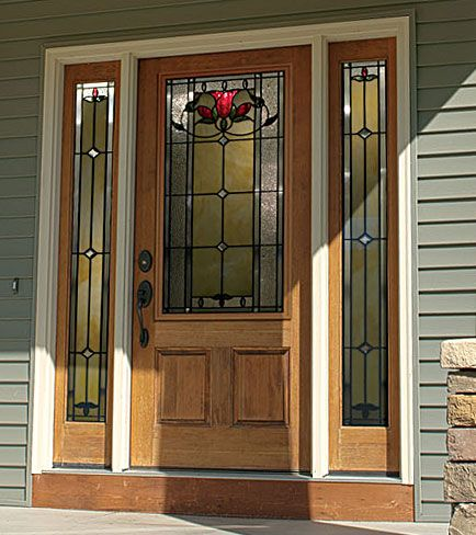 Odl Door Glass Bellflower Curb Appeal Pinterest