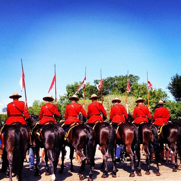RCMP Musical Ride - Regina, #Saskatchewan