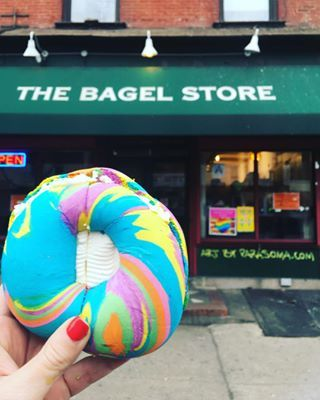 "Remember The Bagel Store? | Rainbow Bagel Madness Has Shut Down The Bagel Store ""Indefinitely"""
