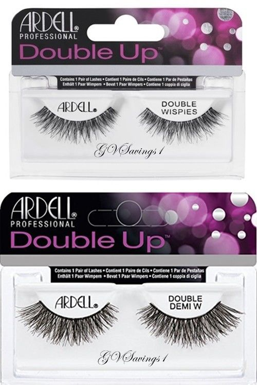 2e055a8d7f1 Details about Ardell Double Up WISPIES Authentic Ardell Eyelashes ...