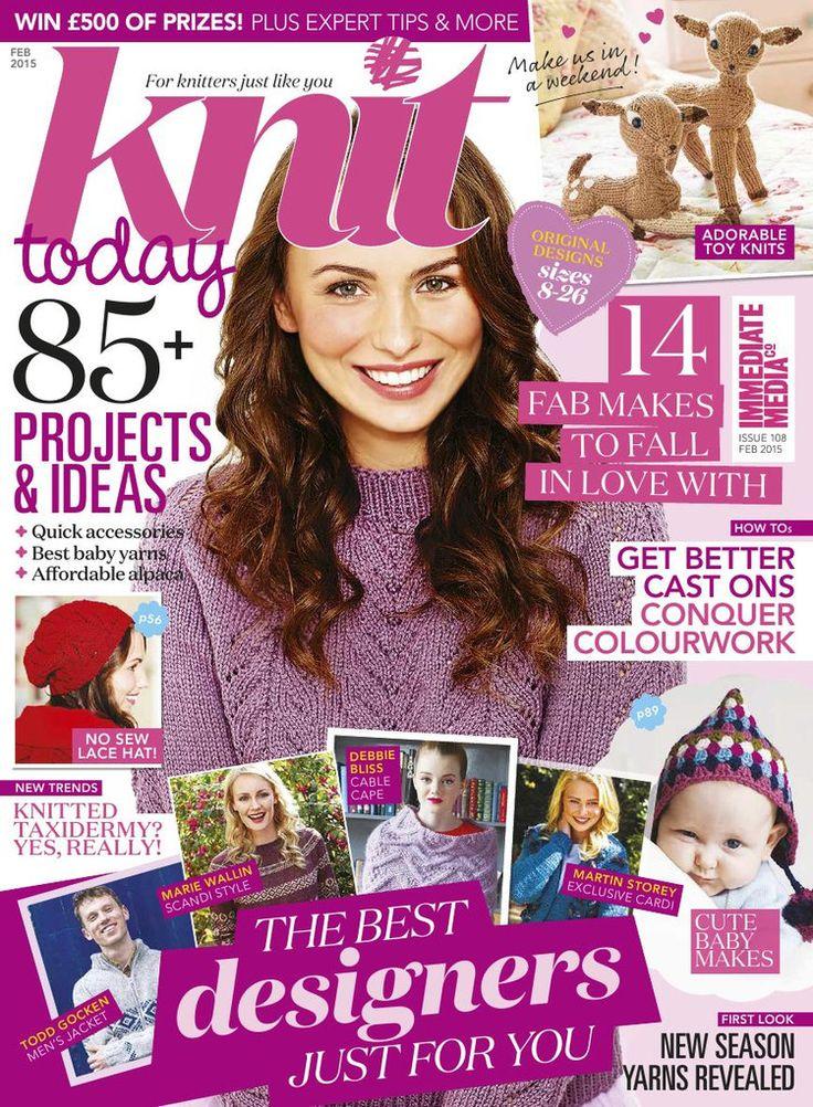 Knit Today Issue 108 2015 - 轻描淡写 - 轻描淡写