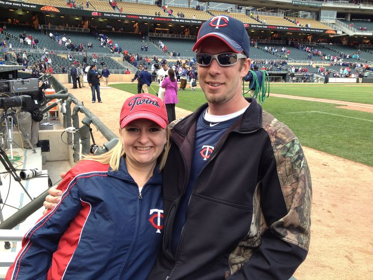 My boyfriend gave me Front Row Tickets to the MN Twins Game last year!