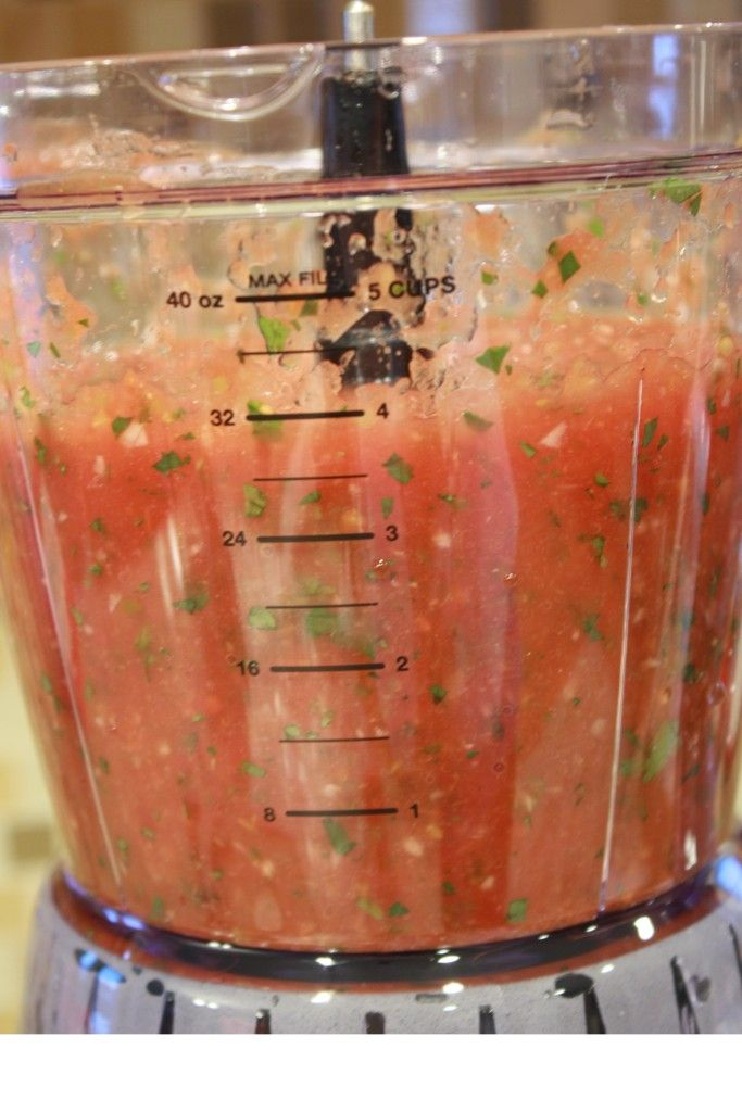 Canned Tomato Salsa Recipe...