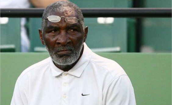 Richard Williams, tennis coach, and father of Venus and Serena Williams gets inducted into American Tennis Association Hall of Fame.