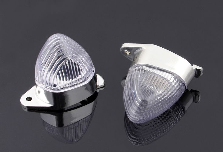 Mad Hornets - REAR Indicators Turn Signals Lens for Kawasaki ZX6R (2005-2006 Euro & US Version only),ZX10R (2004-2005), Smoke or Clear
